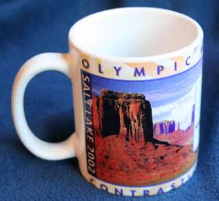 Salt Lake City 2002 Winter Olympics Coffee Mug Souvenir