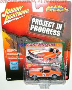 1966 66 FORD MUSTANG FASTBACK PROJECT JL DIECAST RARE