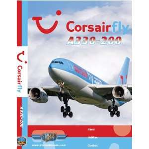 Corsairfly Airbus A330 200:  , Just Planes: Movies & TV