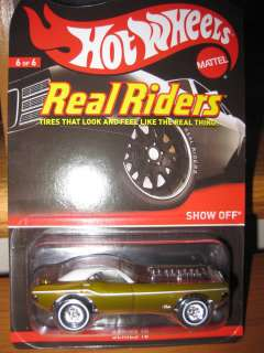 Hot Wheels RLC 2011 Real Riders Series 10 Show Off #3360/3500