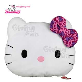 NEW GENUINE Sanrio HELLO KITTY Giant Pillow HUGE Car Bed Nap Cushion
