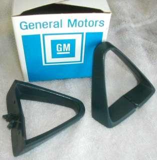81 Trans Am Camaro DARK BLUE seat belt guide pr 78 79 80 original GM