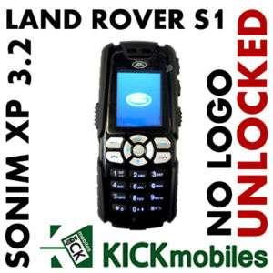 BNIB SONIM XP3.2 QUEST LAND ROVER S1 BLACK UNLOCKED GSM