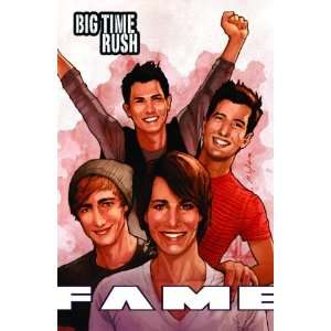 FAME Big Time Rush   The Graphic Novel [Paperback] C.W