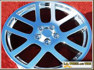 of 4 New 22 Dodge RAM 1500 SRT10 OEM Chrome Wheels Rims EXCHANGE 2223