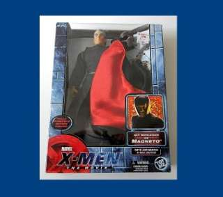 MEN THE MOVIE SERIES MAGNETO FROM TOY BIZ & MARVEL RARE MIB