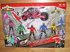 POWER RANGERS SAMURAI RANGER TEAM & DISC CYCLE All 5 Figures, Weapons+