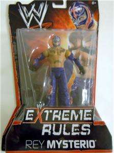 REY MYSTERIO WWE MATTEL PPV 10 (EXTREME RULES) ACTION FIGURE TOY