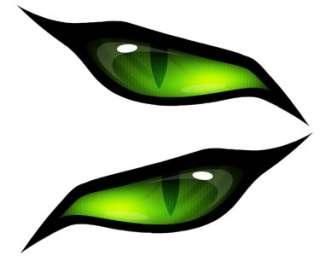 MONSTER EVIL GREEN EYES #1 VINYL DECAL SET*****