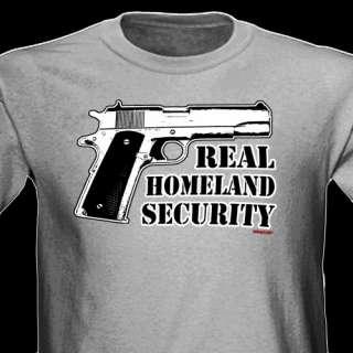 Pro Gun Firearms Ak47 M16 Glock 9mm Military 2nd Amendment Tee