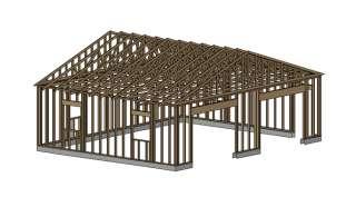 24 x 40 garage shop plans materials list blueprints for 24 x 30 shop plans
