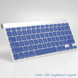 Blue Keyboard Cover Case Protector for Apple Macbook Air Pro 13 15 17