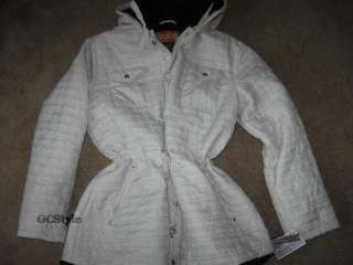 SPORTO WINTER QUILTED JACKET FAUX FUR REMOVABLE HOOD XL