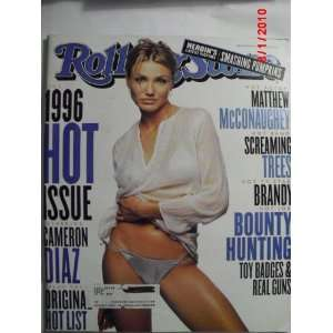Rolling Stone Magazine, Issue 741, Cameron Diaz Cover Various Books