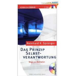 CD. Wege zur Motivation. (9783593372259) Reinhard K. Sprenger Books