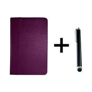 COSMOS ® Purple Color Kindle Fire 3G WiFi PU Leather Stand Case/Cover