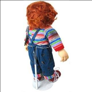 Large White DOLL STAND for Chucky & Tiffany 26 Dolls