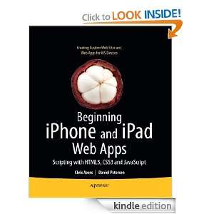 Beginning iPhone and iPad Web Apps Scripting with HTML5, CSS3, and