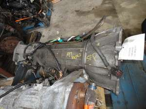 97 1997 FORD EXPLORER AUTOMATIC TRANSMISSION 4.0L 4X4