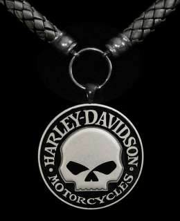 Willie G. Skull Harley Davidson® Licensed Medallion DCJ™ Pendant
