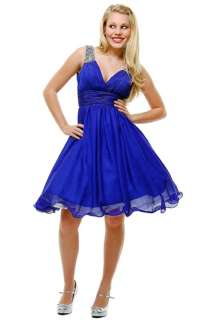 Formal Cocktail Evening Party Short Prom Dress #5622