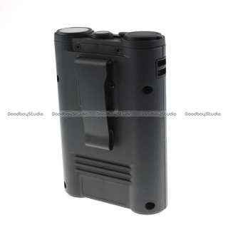 Godox PB820 Flash Power Battery Pack Canon 550EX 580EX II Black
