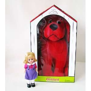 MADAME ALEXANDER CLIFFORD BIG RED DOG & EMILY ELIZABETH