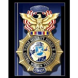Air Force Security Police GWOT Stickers: Arts, Crafts