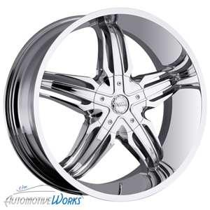 28 Milanni Chrome Wheels Rims Inch Hummer H2 8lug