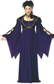 Womens Goth Long Black Club Curls Vampire Costume Wig