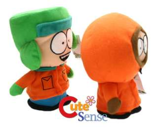 South Park Kenny& Kyle Cute Plush Figure Doll Set  7in