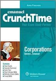 Corporations, (0735572291), Lazar Emanuel, Textbooks   Barnes & Noble