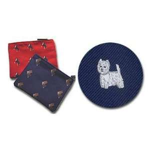 West Highland Terrier Cosmetic Bag (Dog Breed Make up Case)   Westie