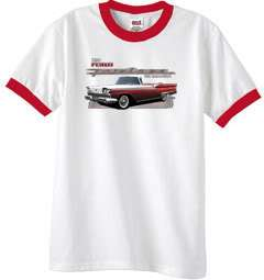 1959 Ford Fairlane 500 Classic Ringer Tee Shirt T Shirt