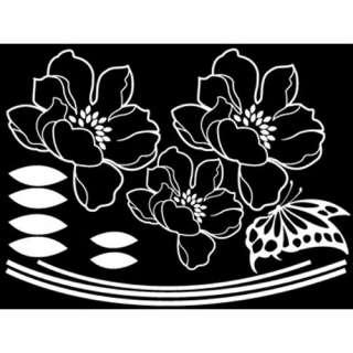 GP 23 FLOWER ANEMONE Graphic Wall Decor Decals Sticker