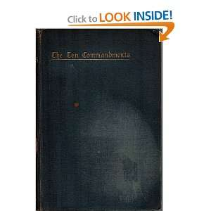 Ten Commandments R W Dale Books