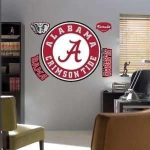 Alabama Crimson Tide Team Logo Fathead Wall Sticker