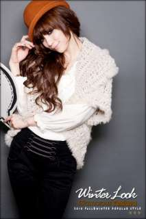 Hollow Knitwear Knitting Cardigan Sweater Tops Outerwear 8498#