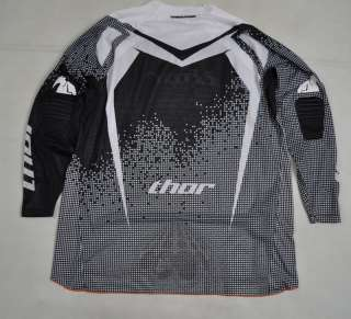Thor Flux Erosion Black White LS Shirt Jersey XX LARGE