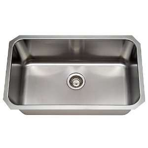 Undermount Single Bowl Stainless Steel Kitchen/Bar Sink