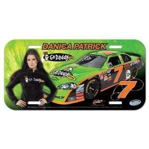 NASCAR Danica Patrick License Plate