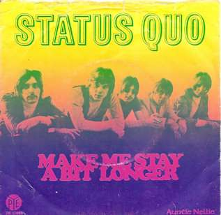 STATUS QUO Technicolor Dreams 1968 RARE Holland + PS