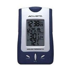 Accurite 00754 Atomic Clock/Weather Station: Home & Kitchen