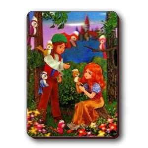 3D Lenticular Magnet   ANIMATed COUPLE: Kitchen & Dining