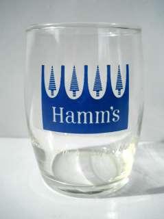 Hamms Beer Barrel Glass St Paul MN Blue Trees