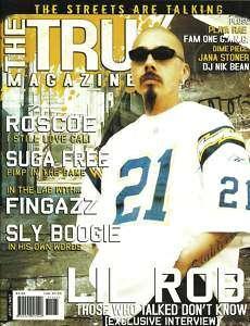 THE TRU MAGAZINE LIL ROB HIP HOP CHICANO RAP LOWRIDER
