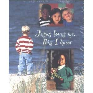Church Bulletin for Kids   Jesus Loves Me, This I Know