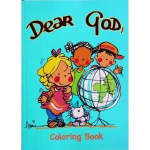 Dear God Coloring Book Anne Fitzgerald Books