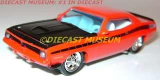 1970 PLYMOUTH AAR CUDA SNAP ON EDITION JOHNNY LIGHTNING LOOSE DIECAST