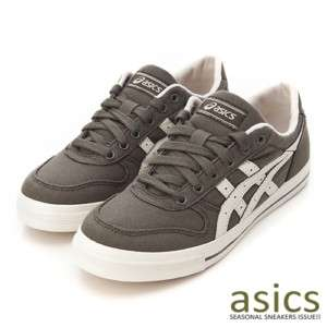 Brand New ASICS AARON CV Shoes Moss / Off White #14